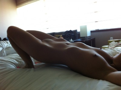 [f] Nothing like a nice stretch in bed while on vacation