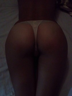 24 year old gf in a tiny thong