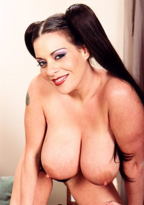 Linsey Dawn Mckenzie with a special hairdo