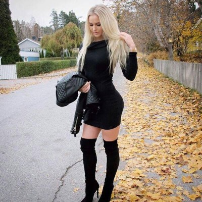 Anna Nystrom is in a league of her own.