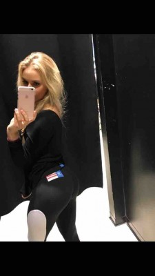 Anna Nystrom. Sorry for the quality.