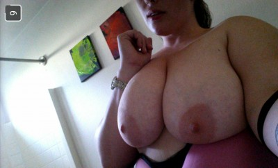Back from before she got them pierced. I love these titties.