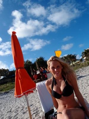 Beach cutie