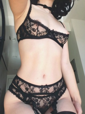 Black Lacy Lingerie