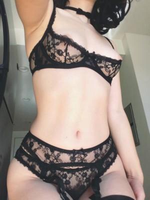 Black Lacy Lingerie