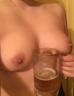 Boobs and beer! Happy Friday!