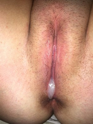 Christmas CREAMPIE. Had no time to shave