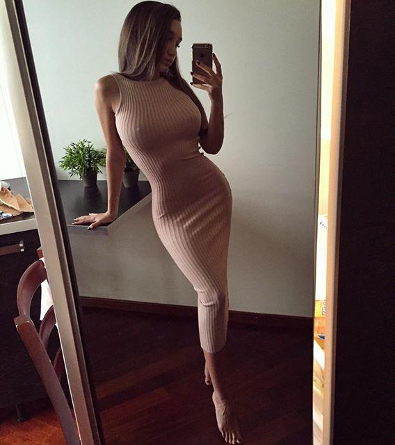 Curves: She has them