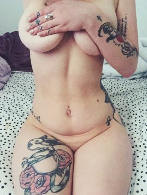 Curvy with tattoos