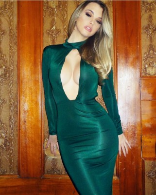 Emily Sears silky green