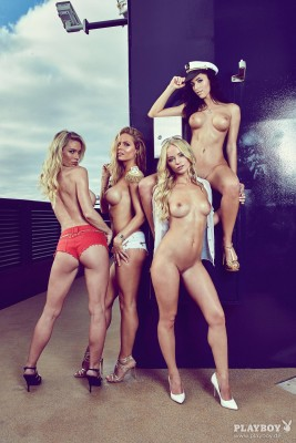Four Playmates