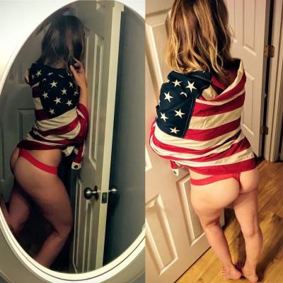 Happy flag day again. [f] xpost /r/realgirls