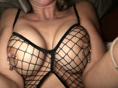 In mesh with clamps on