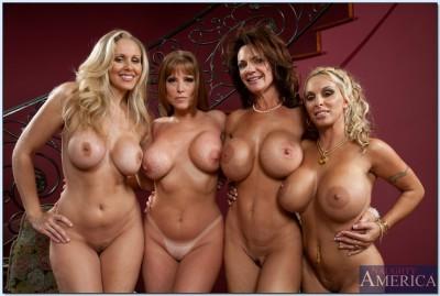 Julia Ann and friends