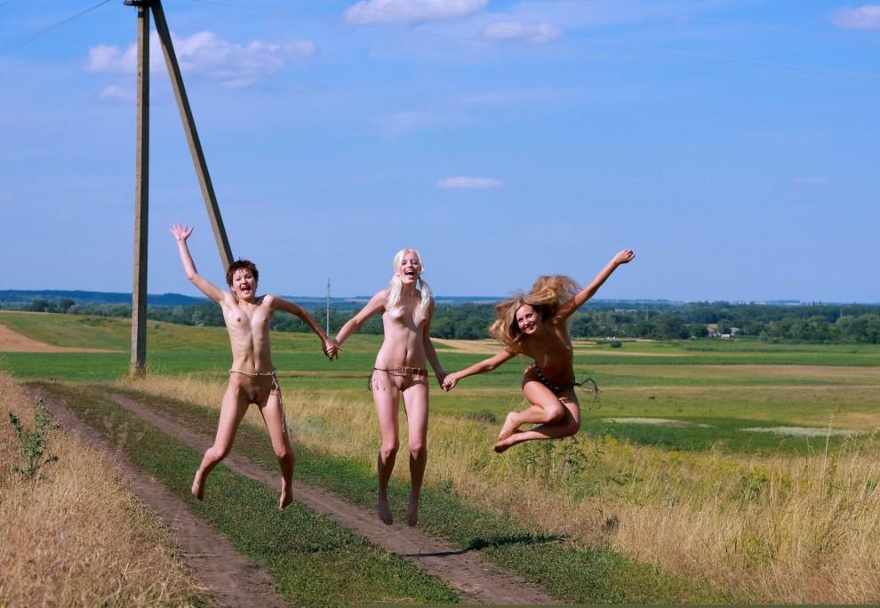 Leaps for joy