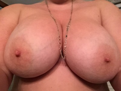 Like my new necklace?