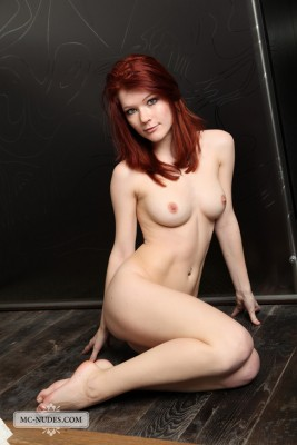 Lynette is a sexy red-head with a perfect body: