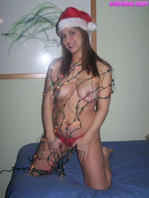 Mrs. Claus getting naughty