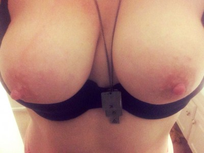My tits are craving your attention! I can't even remember the last time someone blew a load on them :(