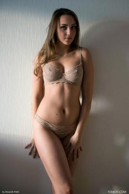 Nearly nude