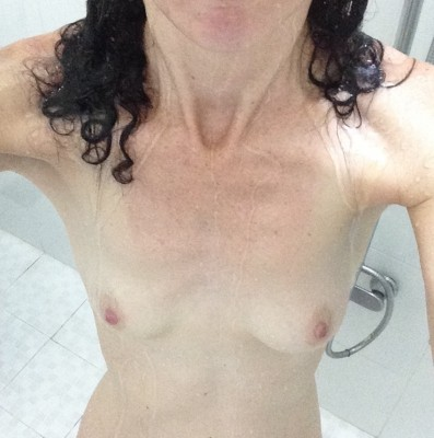 Perky in the shower