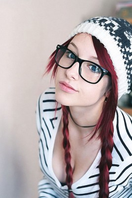 Pigtails and Glasses