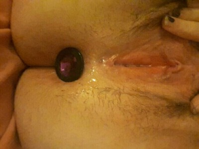 Plugged and dripping wet ;)