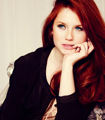 Remember the girl who played Ginny Weasley in the Harry Potter movies?