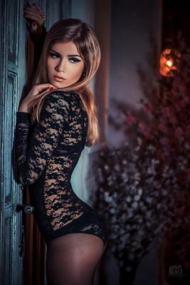 Sexiest full body black lingerie
