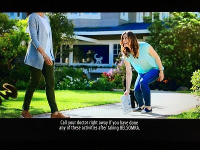 TV drug ad