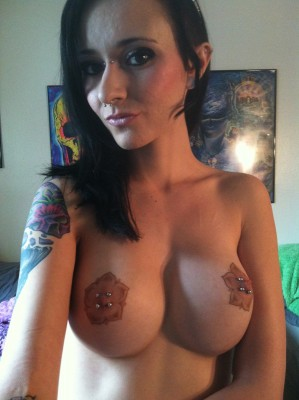 Tatted Nipples