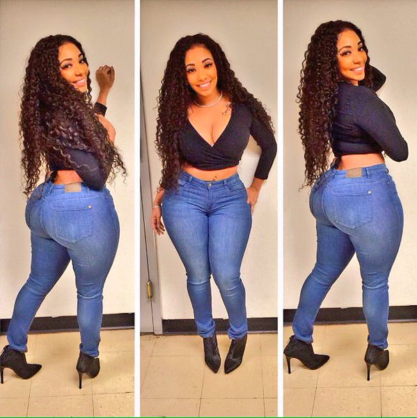 Thick in Jeans