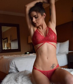 Tight body in red