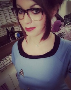 Trekkie (x-post /r/GeekyGirls)