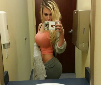 Waist to boob ratio
