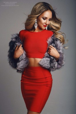 Wrapped in red