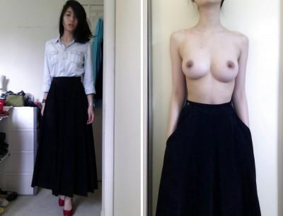 perky breasts