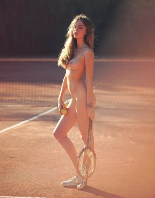 tennis with Anthea Page