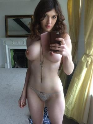 Amateur mirror selfie