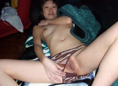 Asian girl wants you to see her pussy (AIC)