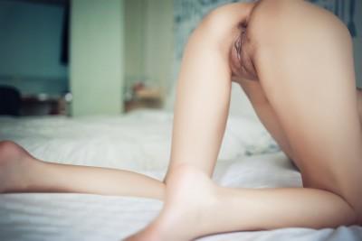 At an angle