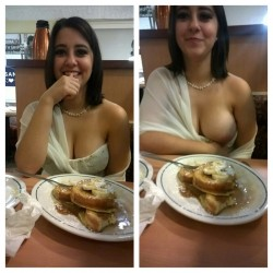 At the restaurant [IMG]