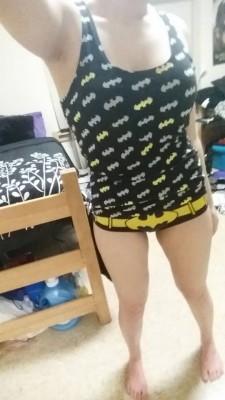Batman fan and proud