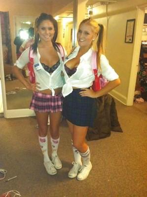 College Schoolgirls.