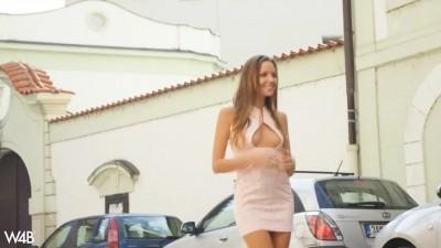 Clover flashing on the street