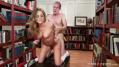 Alexis Adams Fucking In Library