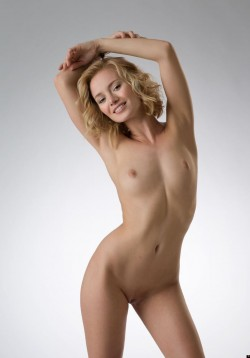 Cute curly haired blonde