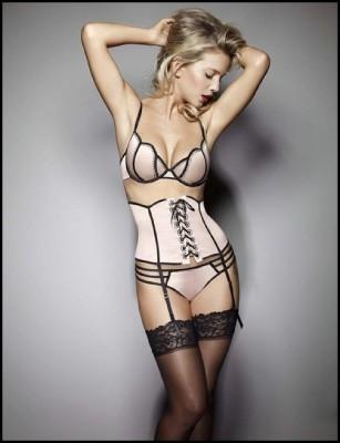 Elegant blonde