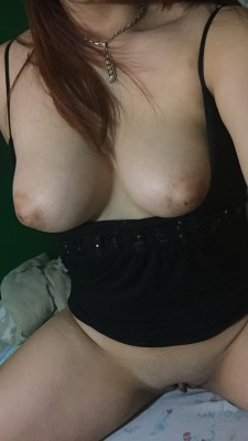(F) nipples and clit are so swollen..