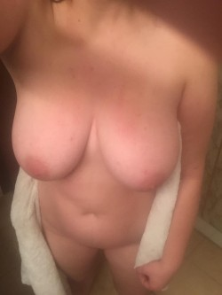 Fresh from the shower